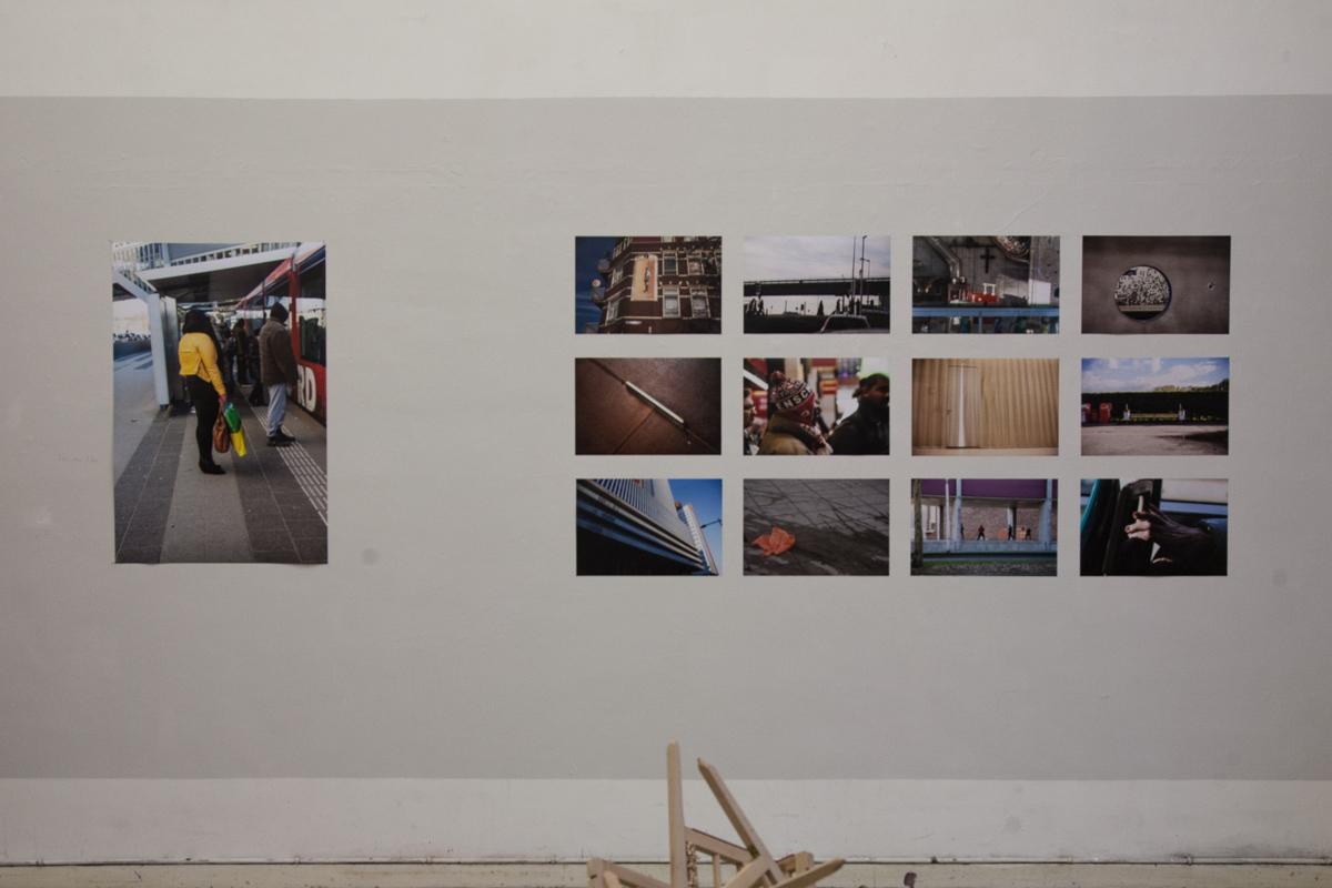 2013 groepsexpositie '3x', Amsterdam