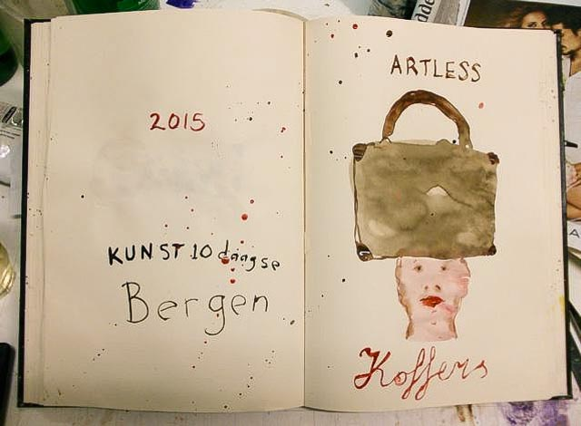 2015 groepsexpositie Kunst10daagse, Bergen N.H.